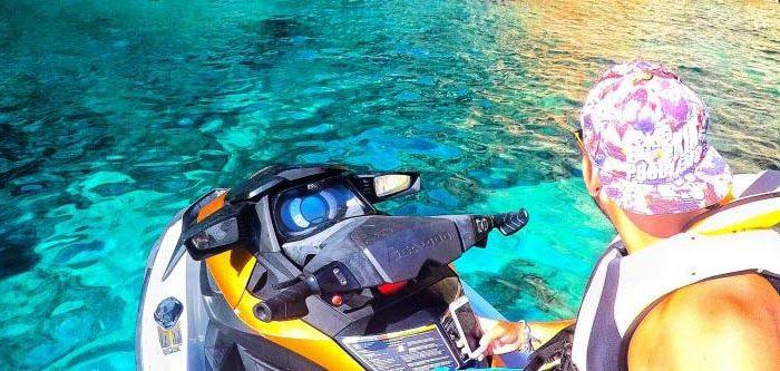 alquiler de moto de agua Denia
